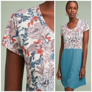 Dolan for Anthropologie Fletcher Floral Dress Sm